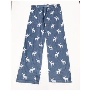 PJ Salvage reindeer print pajamas bottoms M